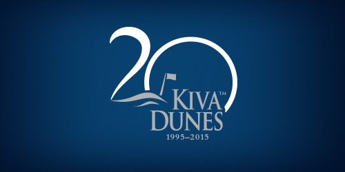 20 years of golf happy anniversary kiva dunes