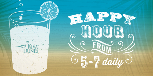 Unwind & Catch the Sunset During Kiva Dunes' Happy Hour