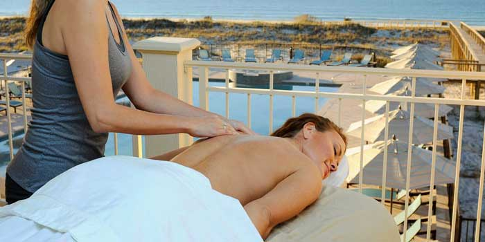 Massage at the Kiva Dunes Beach Club